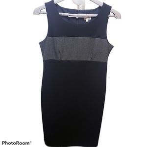 Cleo petites black and grey business body on dress